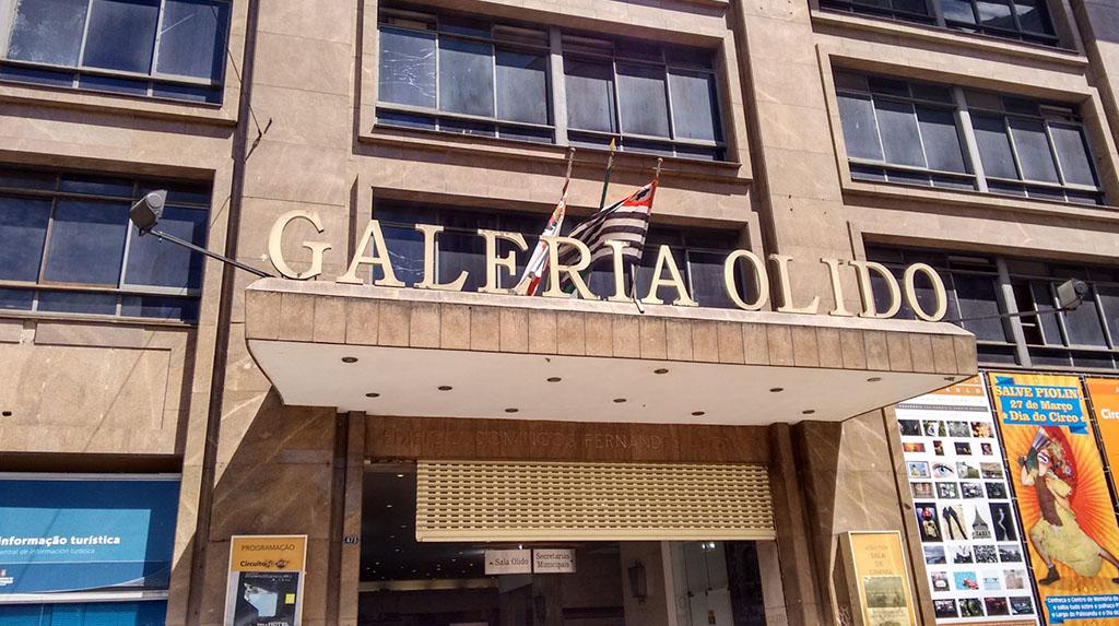 LGBTQIA+ São Paulo: fachada da Galeria Olido