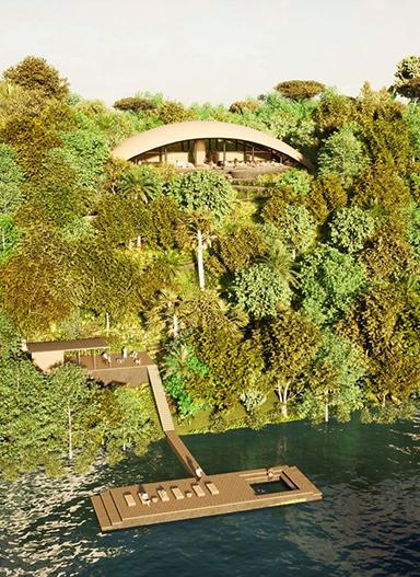 Mirante do Madadá: arquitetura sustentável em meio à floresta, à beira do Rio Negro
