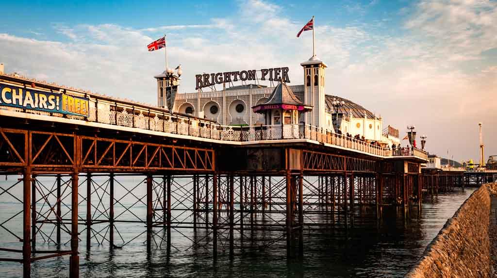 O píer de Brighton
