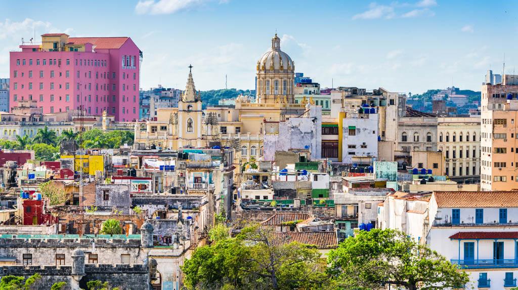 Panorâmica da Havana Vieja