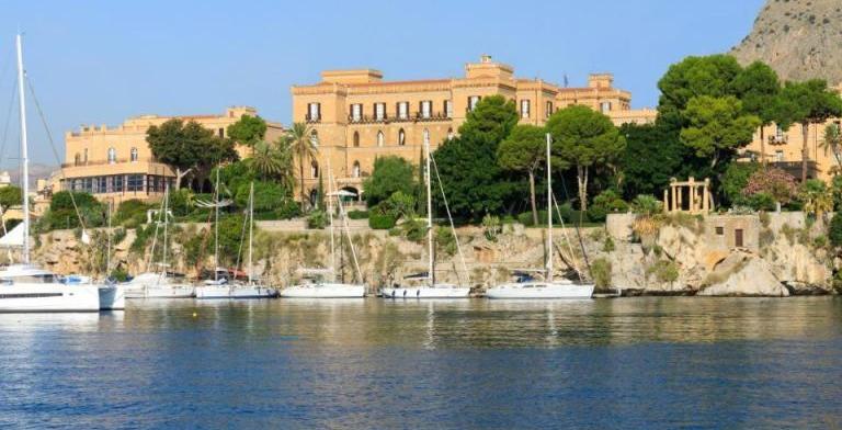 fachada do hotel Rocco Forte Villa Igiea
