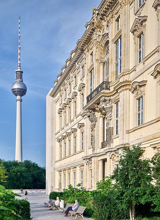 Fachada Humboldt Forum em Berlim