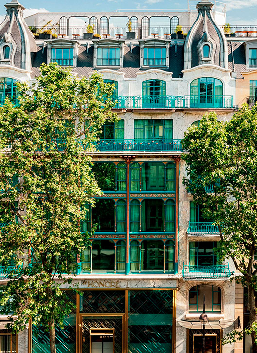 Fachada Kimpton St Honoré Paris